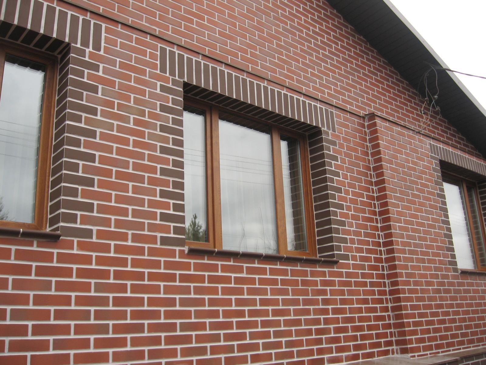 Фасады частных домов - аист - фасадные работы.